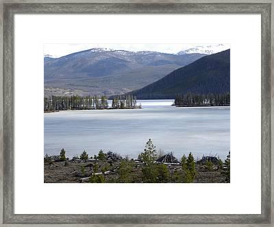 Granby Lake Rmnp Framed Print