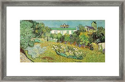 Daubignys Garden Framed Print