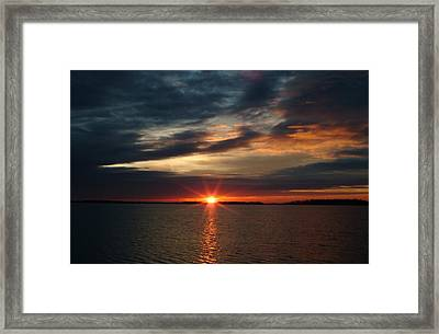 041509-12 Framed Print by Mike Davis