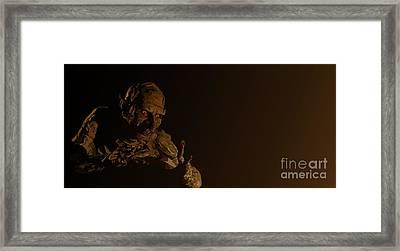 049. Can't Wait To Unwrap It Framed Print by Tam Hazlewood