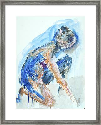04955 Gardener Framed Print by AnneKarin Glass