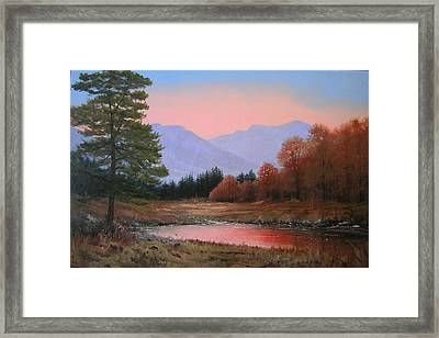 051116-3020     First Light Of Day   Framed Print by Kenneth Shanika