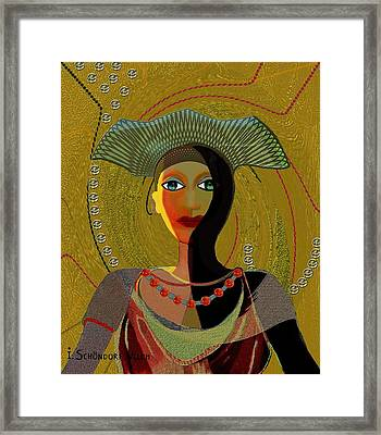 052 -   Nana Golden Framed Print