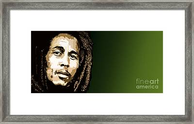 056. Hit Me With Music Framed Print by Tam Hazlewood