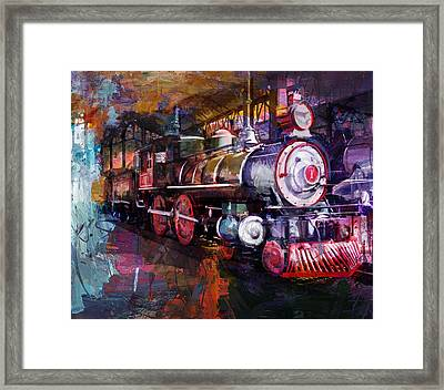 058 Stockton Terminal Eastern Travel Town Museum Los Angeles Framed Print by Maryam Mughal