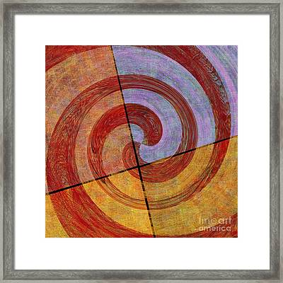 0581 Abstract Thought Framed Print