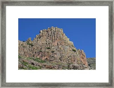 Mountain Scenery Hwy 14 Co Framed Print