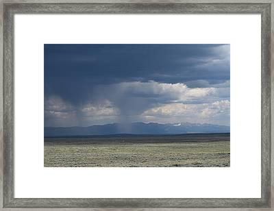 Storm Lake John Swa Walden Co Framed Print