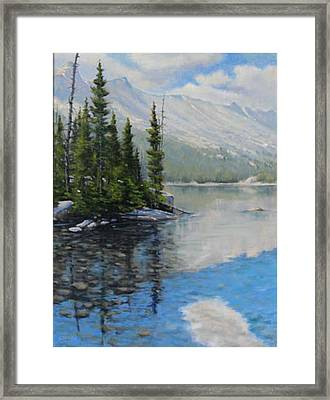 060126-1814  Shallow Waters Framed Print by Kenneth Shanika
