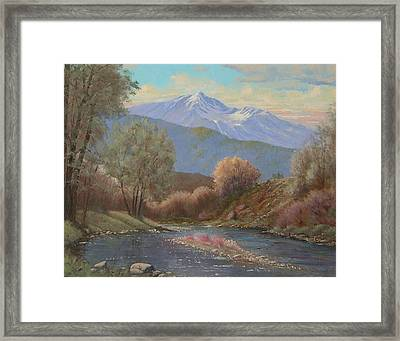060630-1814  The Land Awakes In Spring   Framed Print by Kenneth Shanika