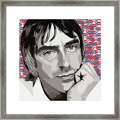 064. The Mod King Framed Print by Tam Hazlewood