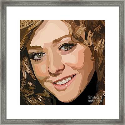 065. I Broke The Yellow Crayon Framed Print by Tam Hazlewood