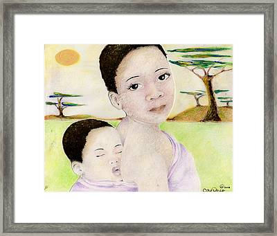 068 Framed Print by Candace Williams