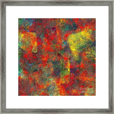 0786 Abstract Thought Framed Print