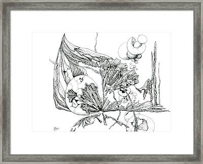 0811-27 Hatched Framed Print by Charles Cater