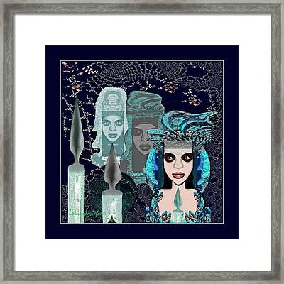 082 - Mystic Child 2017 Framed Print