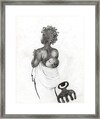 083 Framed Print by Candace Williams