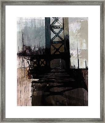083 Manhattan Bridge Framed Print