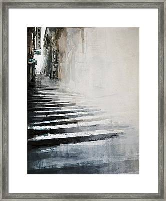 084 Ny 30th Street Framed Print