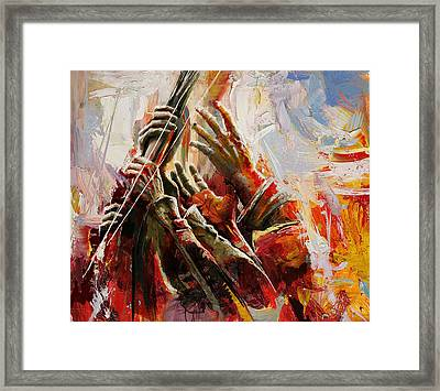 087 Marines Memorial Hands Framed Print