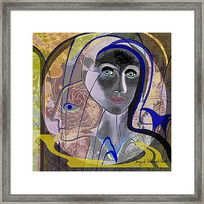 090 - Icon Framed Print by Irmgard Schoendorf Welch