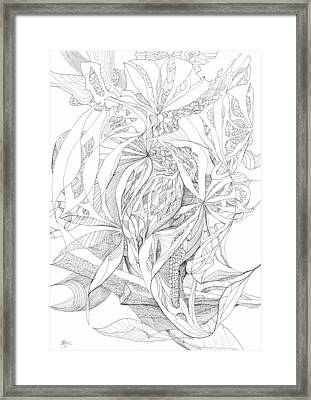 0910-4 Framed Print by Charles Cater