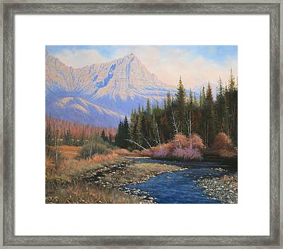 091022-2024  Into The Back Country Framed Print by Kenneth Shanika