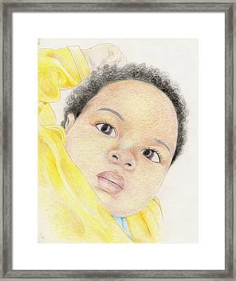 094 Framed Print by Candace Williams