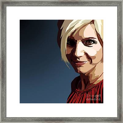 094. Oh I'll Kill You Dead Framed Print by Tam Hazlewood
