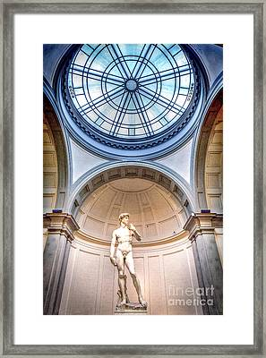 0977 Statue Of David Framed Print by Steve Sturgill