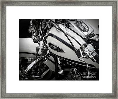 1 - Harley Davidson Series  Framed Print by Lainie Wrightson