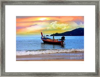 Thailand Framed Print by Mark Ashkenazi