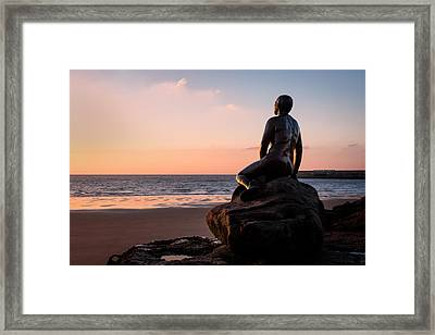 The Folkestone Mermaid Framed Print by Ian Hufton