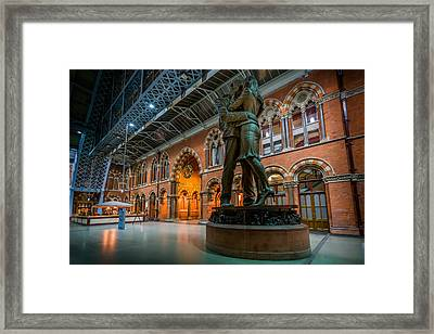The Meeting Place Framed Print by Ian Hufton