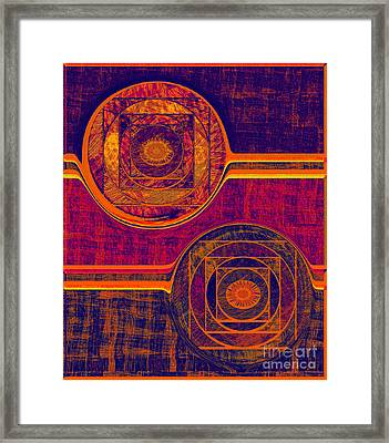 0523 Abstract Thought Framed Print