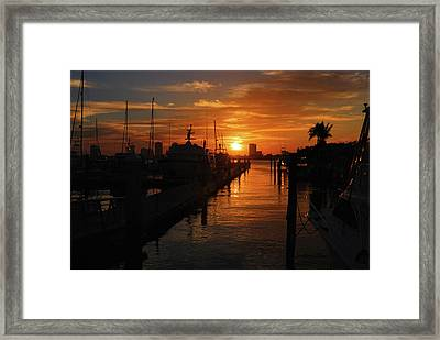 Framed Print featuring the digital art 1 by Joseph Keane