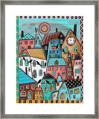 10 O'clock Framed Print by Karla Gerard