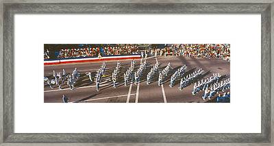 109th Tournament Of Roses Parade Framed Print by Panoramic Images