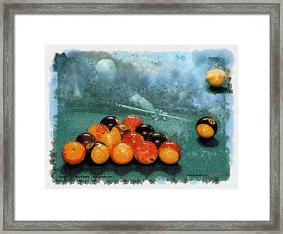 127 And Out Framed Print by Max Eberle