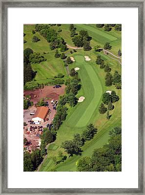 14th Hole Sunnybrook Golf Club Framed Print by Duncan Pearson