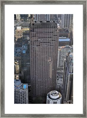 1717 Arch Street Philadelphia Pa 19103 Framed Print by Duncan Pearson