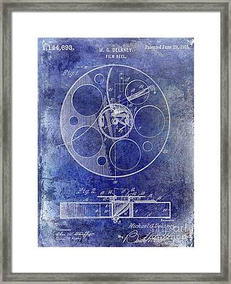 1915 Film Reel Patent Framed Print