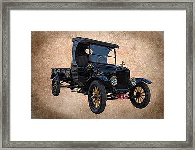 1923 Ford Model T Truck Framed Print by Nick Gray