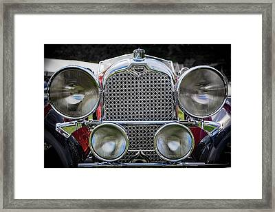 1928 Auburn 8-88 Speedster Framed Print by Jack R Perry