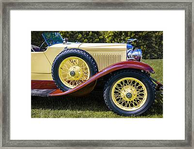 1930 Vauxhall Hurlingham Boattail Framed Print by Jack R Perry