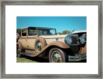 1931 Packard Deluxe Eight Framed Print by Jack R Perry