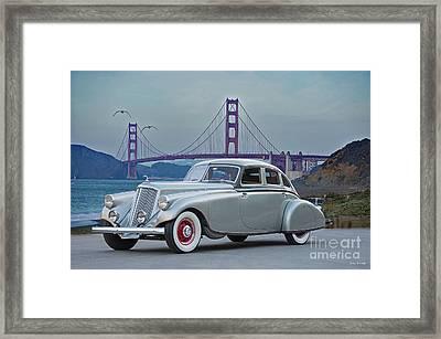 1933 Pierce Silver Arrow Sedan Framed Print