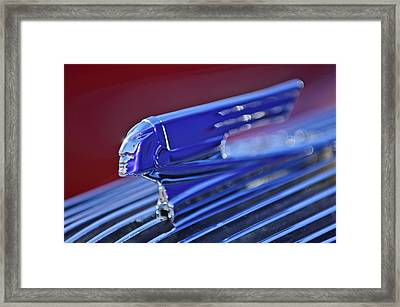 1936 Pontiac Hood Ornament 4 Framed Print by Jill Reger