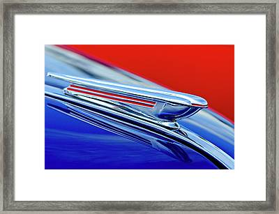 1938 Chevrolet Hood Ornament 2 Framed Print by Jill Reger