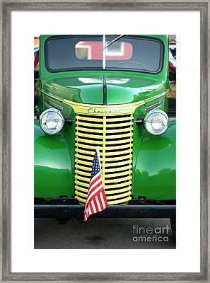 1939 Chevrolet Truck Framed Print by George Robinson